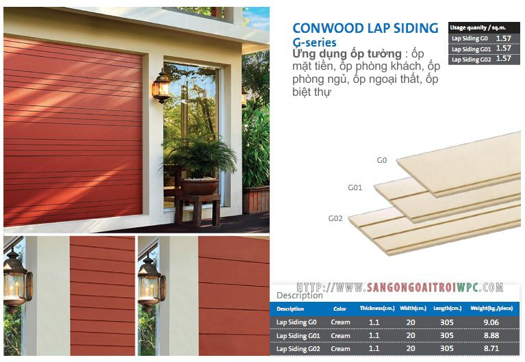 conwood siding